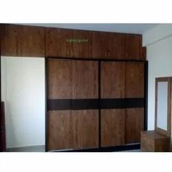Brown PVC Wardrobe