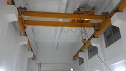 Double Girder I Beam Type EOT Crane