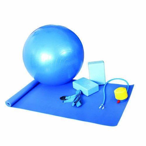Pvc Foam Sky Blue Yoga EVA Yoga Mat Set 5f1c2cad5