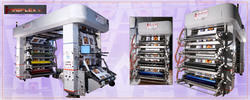 Multi Colors Roll Paper Flexo Printing Machine