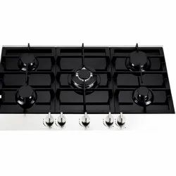 874 x 520 x 100 mm  5 Burner Gas Hob