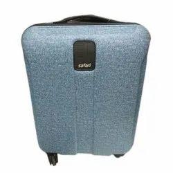 Nylon Fabric Safari Trolley Suitcase, Size: 22 inch