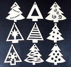 daedal crafters wood en christmas tree decorations