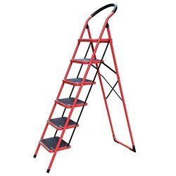 6 Step Iron Ladder