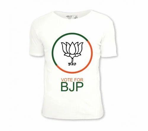 9881d094 Election Promotion T-Shirt, BJP Campaign Tshirt, BJP Election T ...