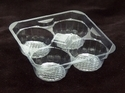 4 Pc Muffin Tray