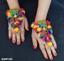 Gamthi Hand Bracelet - Navratri Special Hand Panja Poncho