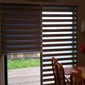 Wooden Horizontal Zebra Blinds