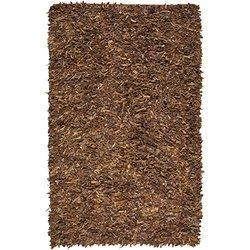 Brown Leather Shag Rugs