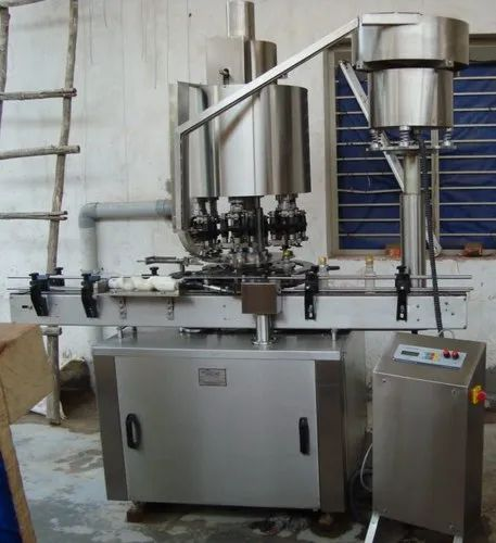 Capper Machine For Bottle - Linear Screw Capping Machine