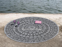 Mandala Tapestry Cotton Hippie Throw