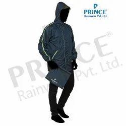 Full Sleeve Reversible Rain Jacket