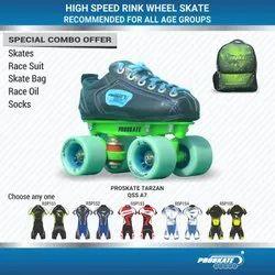 Proskate Tarzon Rink Wheel Skate QSS A7