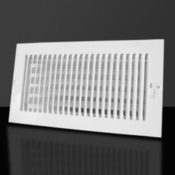 Plastic Air Diffusers, Linear, Shape: Square