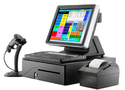 Epson And Zebra Retail Pos - Silver Printer