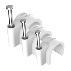 Press Fit Nail Cable Clips - All Sizes Available