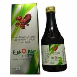 FRANCHISE Carica Papaya Leaf Extract with Tinospora Cordifolla Extract Syrup