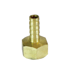 Brass Hose Nipple Male, Size: 1/2 inch, for Industrial