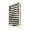 Galvanized Steel Adjustable Aluminum Louver, For Residential Use