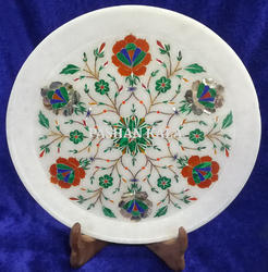 Inlay Marble Stone Plate