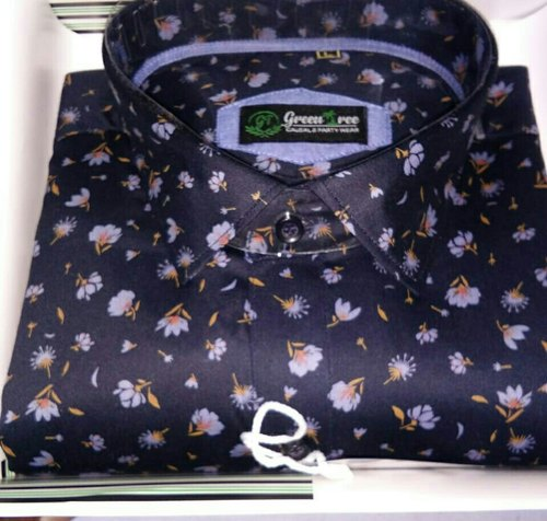 Cotton Men Casual Shirts