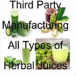 Third Party Herbal Juice Manufacturer