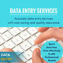 Offline Data Entry Services