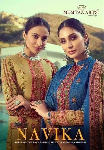 Navika By Mumtaz Arts Lawn Cotton Suit