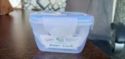 Four Lock Polypropylene Food Container