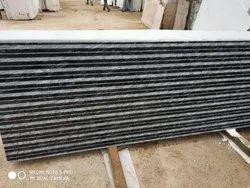 CNC Art  White & Black Granite Slab