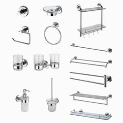 Brass Chrome Bathroom Accessories, For Home