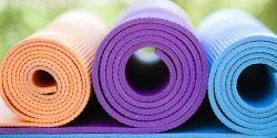 PVC Yoga Mat, Size: 180 x 60 cm