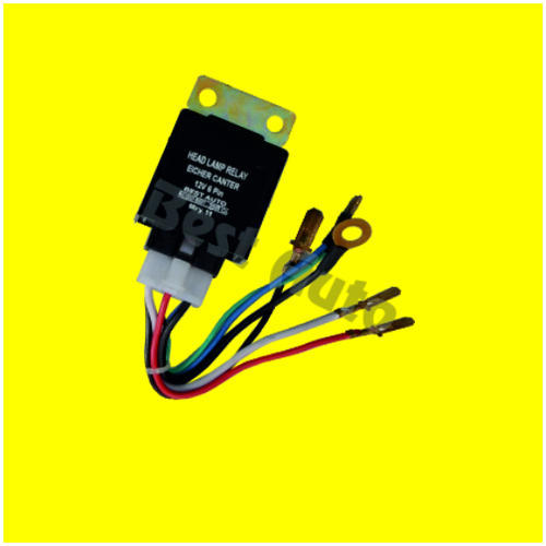 Headlamp Relay Eicher Canter 6 Pin 12V / 24V - IB-002896 ... on