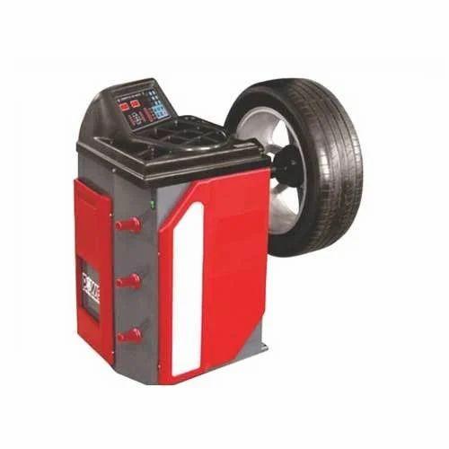 CB-702 Wheel Balancer, व्हील बैलेंसर - Juniper Engineers, Ahmedabad | ID:  19983608697