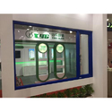 Radius Residential Upvc Fixed Openable Windows, Thickness Of Glass: 8mm