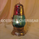 Glass Contemporary Color Hanging Lantern