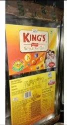 King Soyabean Refin Oil, Packaging Type: Tin