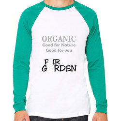Full Sleeves Printed Stylish Raglan T-Shirt