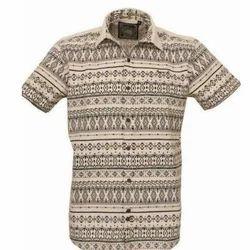 Party Wear Printed Men's Fancy Shirt