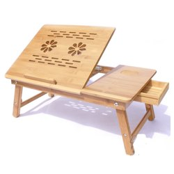 Wooden Portable Laptop Table Stand
