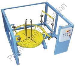 Wire Decoiler with Guiding & Side Railing Safety Guard