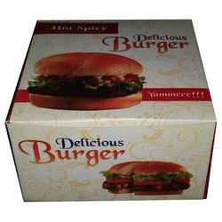 Paper Burger Packaging Box