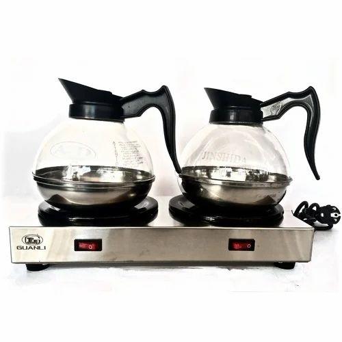 Commercial Kitchen Equipments Double Hot Plate Tea