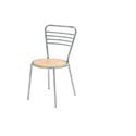 Veneer Cafes Chair