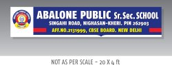 1 Week 2D Signage Design, Location: Pan India