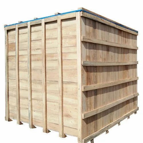 Heavy Duty Wooden Packaging Box, for Shipping & Transport of Goods