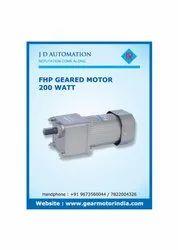 6W FHP Geared Motor