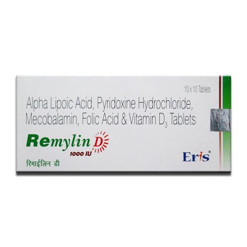 Remylin D Tablets, Packaging Size: 10x10 Tablets, Rs 111 /piece | ID:  20857214233
