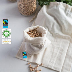 organic cotton nuts bag