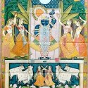 Shrinath Ji Pichwai Wall Painting